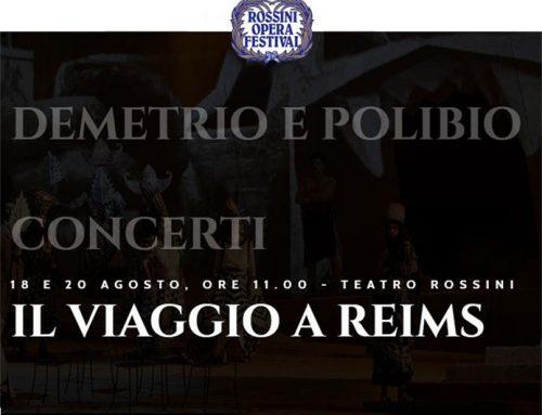 stagione Rossini Opera  festival 2019